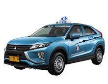 Mitsubishi Eclipse Cross Bluebird Group TAKSI ( TAXI ) !? ・・・・