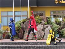 ルパンレンジャーVSパトレンジャーと仮面ライダービルドのショーはしご。