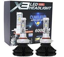 ハロゲン VS  LED (LUXEON X3 LED HEADLIGHT )