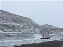八甲田雪道?ドライブ