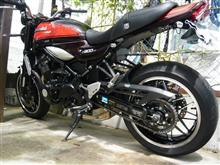 Z900RSフェンダーレス