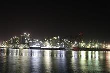工場夜景とWRX