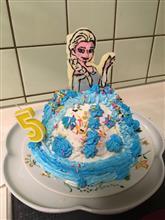 娘の5歳の誕生日