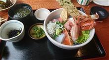 ある日の昼御飯41 初めての島で食べる海鮮丼