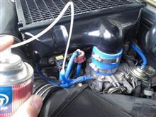エンジンにいたずら 毒ガス製造