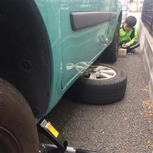 やっと冬タイヤを交換