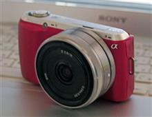 カメラ買い替え、SONY NEX-C3に。