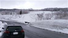 八甲田山の雪の回廊