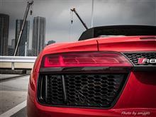 Audi  R8スパイダー試乗
