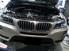 BMW X3 スプリング交換