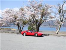 やっぱ富士五湖でしょ!跳ね馬8気筒編