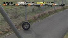 何処が壊れてタイヤが外れたのか?