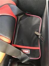 黒赤増量☆TONEボルトバッグ