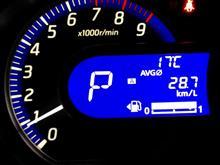 不定期デイズ燃費表示記録