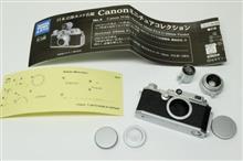 日本立体カメラ名鑑 Canon ミニチュアコレクションNo.4