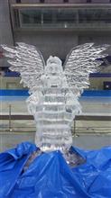 今季最後の氷~彫刻・・・・・・だったMウェーブ!!