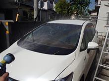 久々に全力洗車(笑)