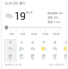 明日の予定が(-_-;)