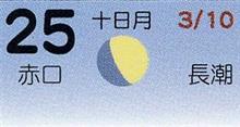 月暦 4月25日(水)