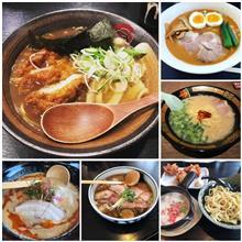 2018-046〜064 麺色々&3月総括