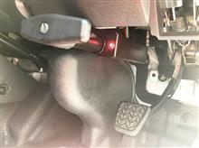 200系ハイエース用 ブレーキペダルロックNEWバージョン!