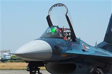 「F-15・F-2戦闘機地上展示」を見学してきました。
