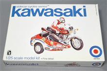 米ENTEX 1/25 、カワサキ750 サイドカー