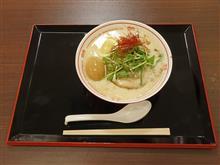 中国道上り西宮名塩SA 鶏だしラーメン味玉のせ980円