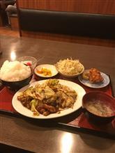 晩飯を会社近くの店で(^_^;)