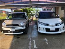 早朝洗車!!