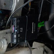 【ビート】ETC取付 Panasonic CY-ET925KD