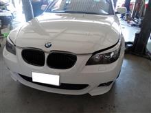 BMW E60 ATオイルパン交換