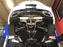 LEXUS LC500バルブ付マフラー開発完了!!