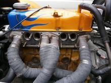 エンジンから異音の修理