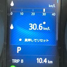 ◆【備忘録】夏タイヤ交換後、燃費確認