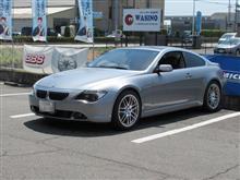 GW前のメンテナンス..BMW E63 エンジンオイル交換 FUCHS 5W40