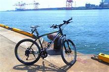 1日がっちり自転車乗った。(^。^)