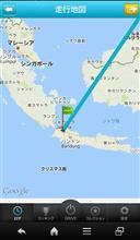 ジャカルタからスタート