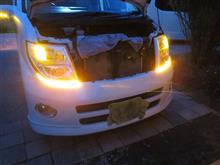 G-FACTORY社製/エルグランド/E51/流れるウィンカー取付/試験テスト