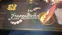 Happy Birthday ・・・ 祝ってくれたのは
