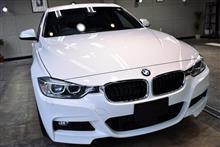3シリーズのアルプス山脈 BMW 320iのガラスコーティング【リボルト千葉】
