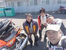 4/28鈴鹿BIKEBIKEBIKE2018 3回目での出会い