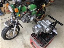 Dax中華エンジンからデイトナ88ccへ載せ替え