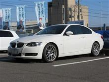 気分転換に..ちょい落とし BMW E92 アイバッハプロキット。