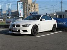 メンテナンスは大事...BMW E92 M3 エンジンオイル交換 ワコーズ4CT-S