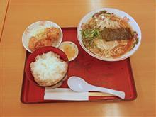 中国道下り加西SA 播州ラーメン定食950円