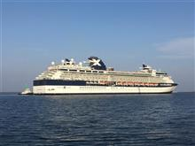 室蘭に今年初の客船が入港