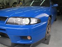 ブレーキ周り交換 GT-R LED交換