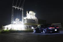 工場夜景with盆栽