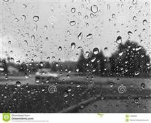 にわか雨が過ぎ去って~